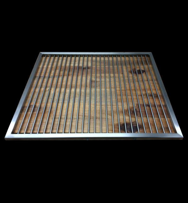Zerlegbarer Edelstahl Grillrost, in verschiedenen Größen