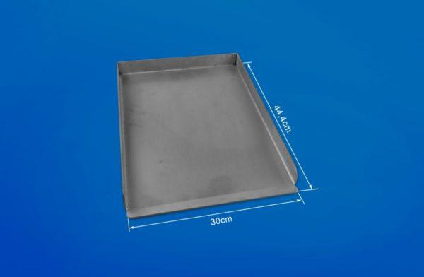 Grillplatte Edelstahl 44,4 x 30 für Weber Grills